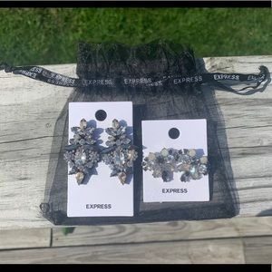 2 Pairs of NWT Express Earrings